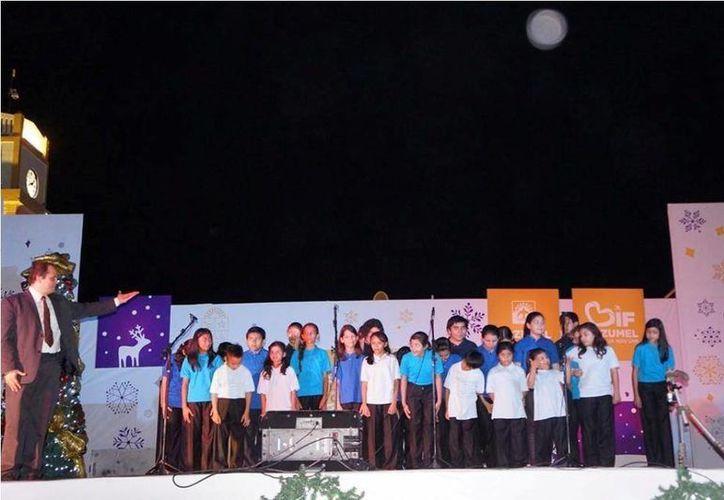 Más de 100 niños participarán en el Segundo Festival Nacional de Coros Infantiles que se realizará en la isla del 15 al 17 de mayo.  (Redacción/SIPSE)