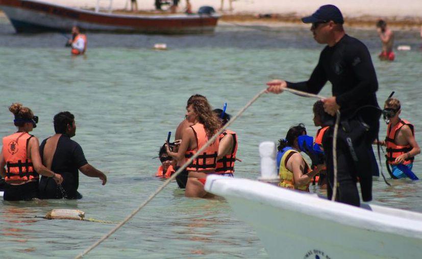 La OMCA propone que la Conanp administre la Bahía de Akumal. (Adrián Barreto/SIPSE)