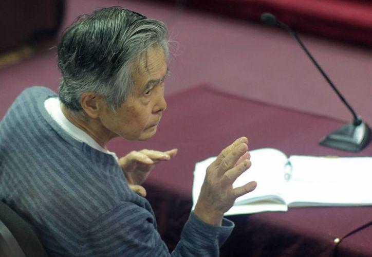 Fujimori purga una condena de 25 años en prisión. (EFE/Archivo)