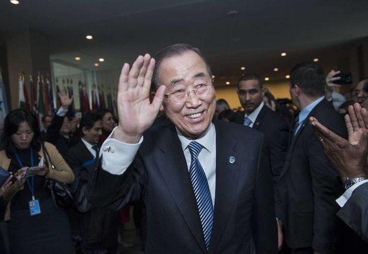 Ban Ki-moon está interesado en competir por la presidencia de su país, Corea del Sur. (Notimex)