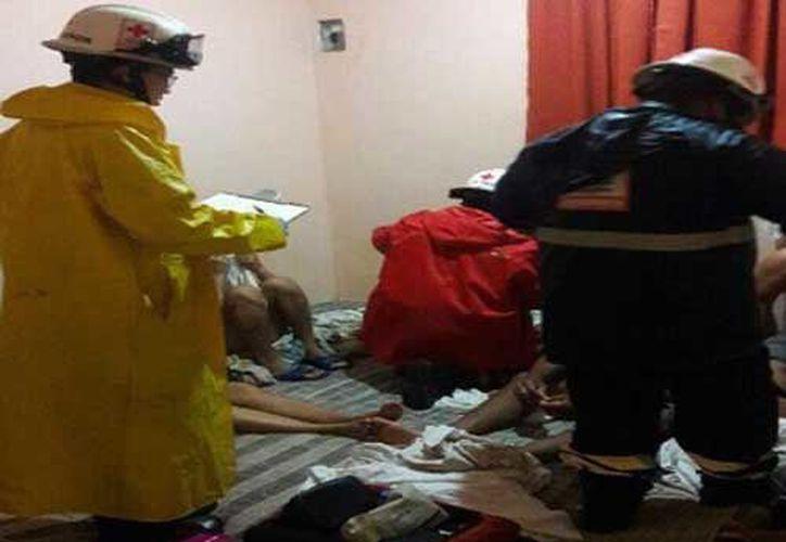 Autoridades municipales y paramédicos de la Cruz Roja se trasladaron al lugar. (Conagua)