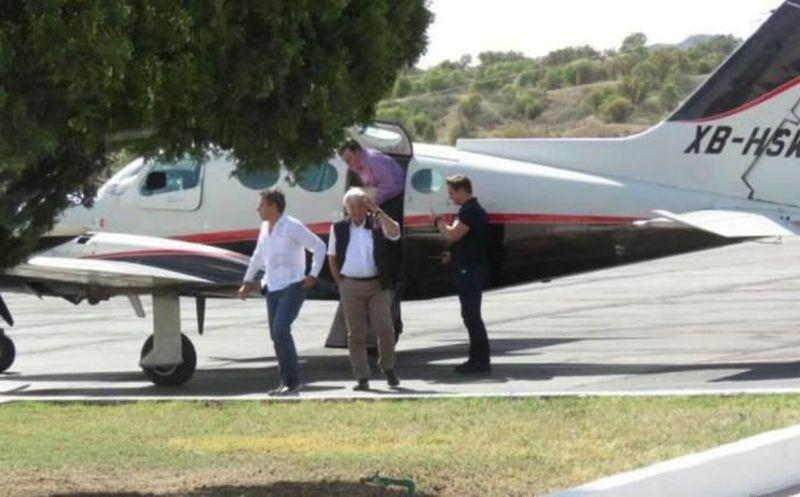 Por tratarse de una aeronave con matrícula XB, no está autorizada para realizar vuelos comerciales. (El Imparcial).