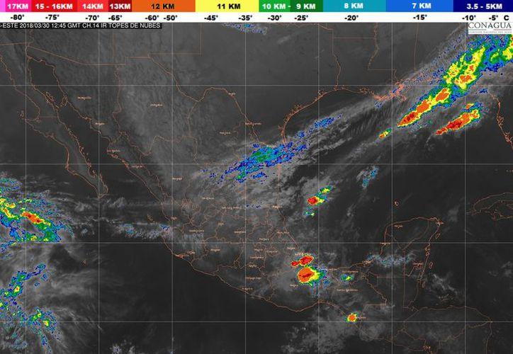 os vientos serán de 15 a 25 kilómetros por hora en Playa del Carmen. (Conagua)