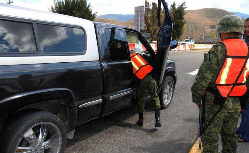 Estados Unidos resaltó el despliegue de fuerzas de seguridad para acotar a los grupos criminales. (Archivo)