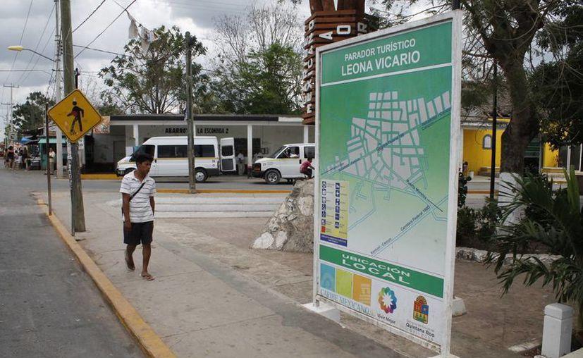Leona Vicario cuenta con una población de 13 mil personas. (Israel Leal/SIPSE)