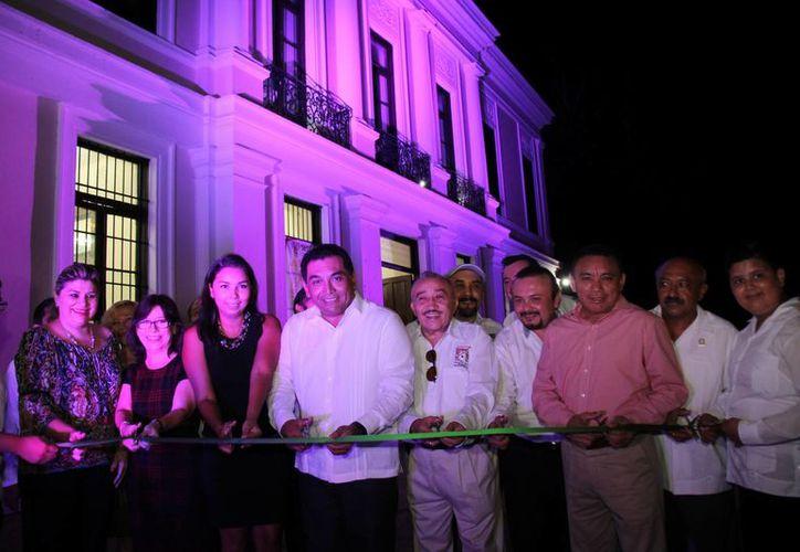 La Escuela de Música Yucateca, que ahora tendrá sede en Bellas Artes, dará servicios a gente joven, que intercambiarán experiencias con pilares de la música yucateca contemporánea. (Foto cortesía del Gobierno estatal)