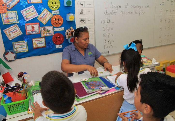 El funcionario explicó que para la construcción de una escuela primaria se necesita un espacio de más de tres mil metros. (Paola Chiomante)