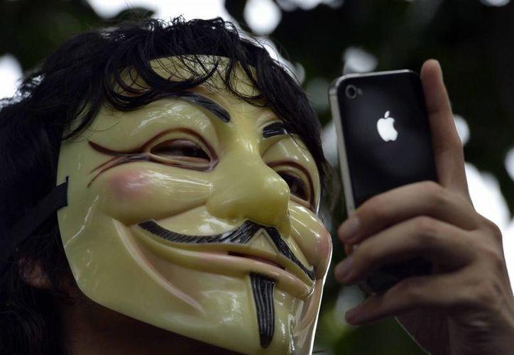 Anonymous ha enviado una serie de mensajes en contra de la prisión. (Archivo/EFE)