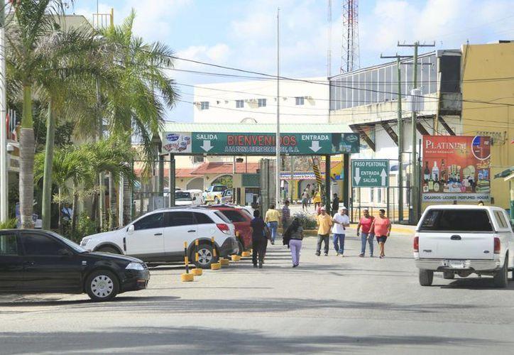 Aseguran que la zona libre de Corozal, Belice, es una oportunidad de inversión para ambos países, si se le da una connotación turística. (Claudia Martín/SIPSE)