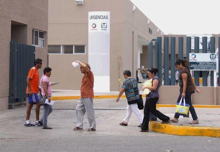 El IMSS aplica tres grados de urgencia al atender a sus pacientes. (SIPSE)