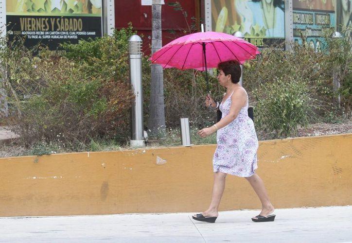 En las próximas 48 horas se mantendrán las temperaturas calurosas en Yucatán, pero la Conagua pronostica lluvias aisladas. (Amílcar Rodríguez/Milenio Novedades)