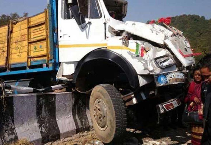 Según la policía, fue la negligencia del conductor la causa del accidente. (ndtvimg.com)
