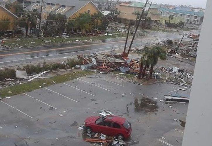 De acuerdo a expertos, se podría producir una devastadora marejada ciclónica  de hasta 4 metros. (Instagram @talarico.tessa)