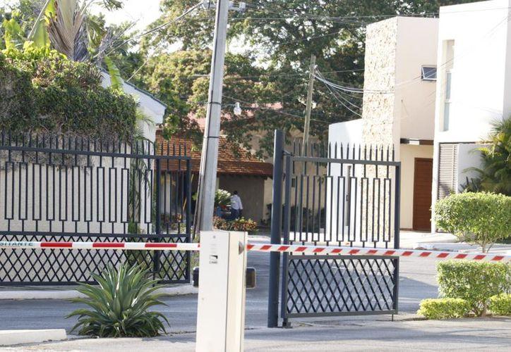 La privada está ubicada detrás del club Campestre de Mérida y cuenta con vigilancia privada. (José Acosta/Milenio Novedades)