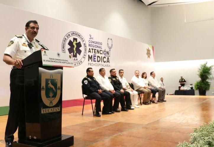 El Congreso de Atención Médica Pre-Hospitalaria, tercero en su tipo, es organizado por la Unidad de Ambulancias de Seguridad Pública. (SIPSE)