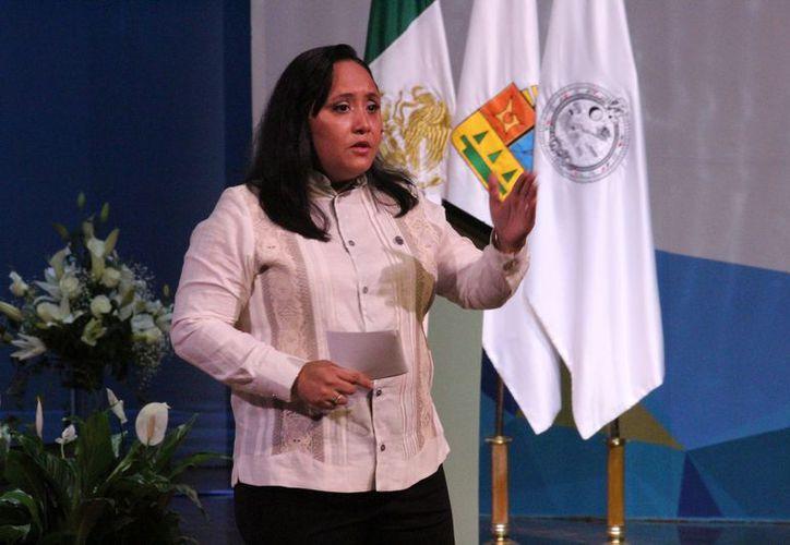 La presidenta municipal esperará hasta abril para presentar su renuncia o permanecer en el cargo. (Foto: Adrián Barreto/SIPSE)