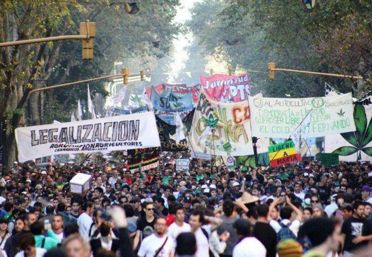 """En Playa del Carmen, se llevará a acabo la """"Marcha por la legalización de la marihuana"""". (Foto: Contexto)"""