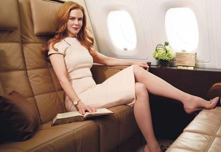 "Nicole Kidman protagoniza la campaña ""Hollywood Glamour for Etihad Airways"". (ansa.it)"