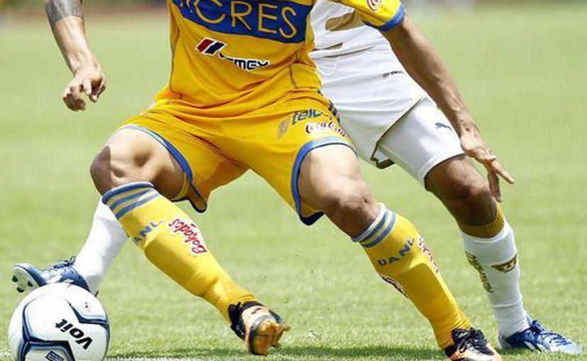 Cae estrepitosamente Pumas de la UNAM ante Tigres de la UANL. (Notimex)