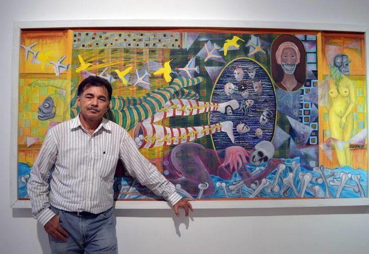 La exposición del artista plástico David Guerra será inaugurada el próximo viernes 29, a las 20 horas. (Milenio Novedades)