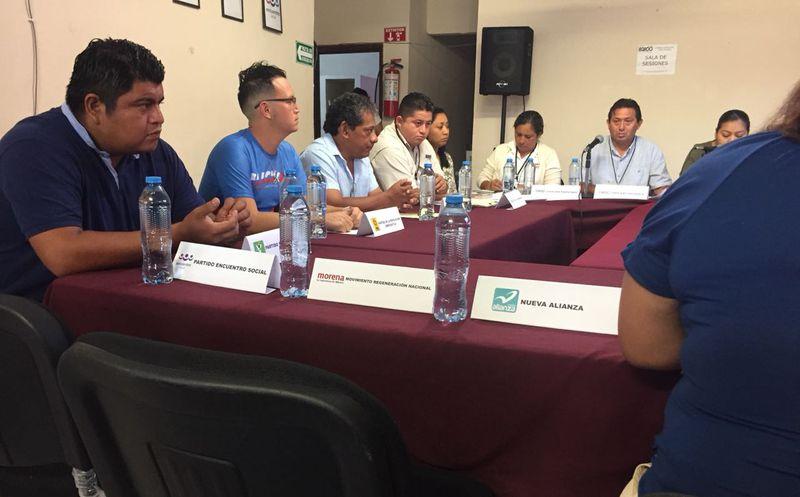 Faltan representantes de partido a la sesión del consejo. (EVa Murillo/SIPSE)