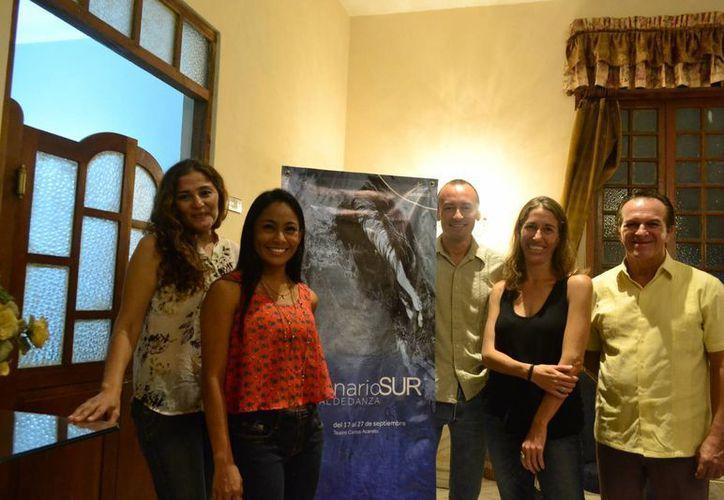 El Escenario Sur Festival de Danza es organizado por la agrupación Equilibrarte. (SIPSE)