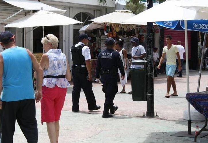 ''La Policía Turística está tomando cursos de inglés''. (Archivo/ SIPSE)