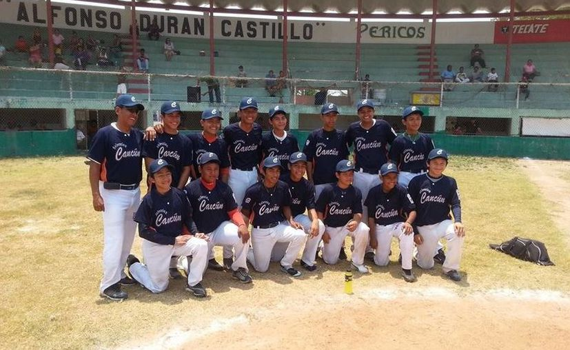 La selección de béisbol clasificó a la fase regional del Torneo Williamsport.  (Redacción/SIPSE)