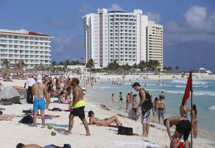 La mayoría de los turistas son extranjeros, seguidos de nacionales. (Israel Leal/SIPSE)