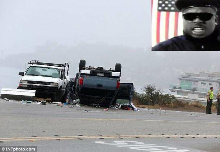 El rapero Dewayne Coleman, conocido artísticamente como MC Supreme, falleció en un accidente automovilístico al sur de California, reportaron este lunes autoridades locales. (Foto: dailymail.co.uk)