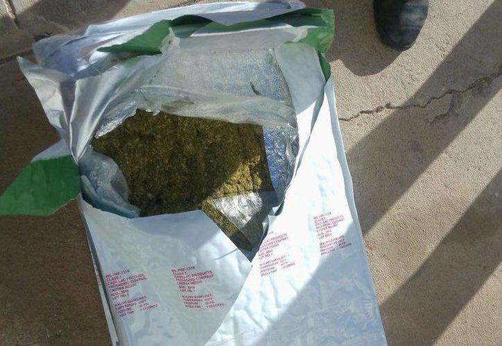 La droga decomisada tiene un equivalentes a 5.2 millones de dosis, la cual tiene un valor superior a 105 millones de pesos. (h.canalsonora.com)