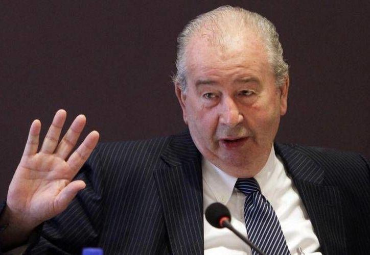 Una serie de escuchas del fallecido, Julio Grondona (foto), vicepresidente de la FIFA han revelado serias irregularidades, que van desde la evasión de impuestos hasta el arreglo de partidos. (Fotografía: eldinamo.cl)
