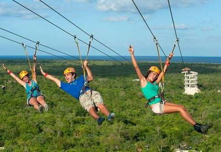 Las actividades como el rapel, tirolesas, kayak, pesca, entre otras, son de las más destacadas en el turismo de aventura. (Contexto/Internet)