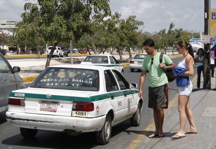 El programa piloto se realizará por 30 días con el fin de evaluar si el sistema se implementará en Cancún o no. (Tomás Álvarez/SIPSE)