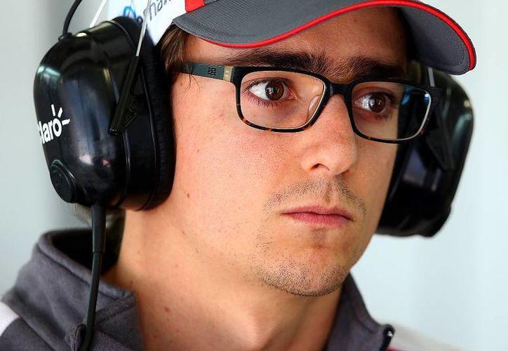 Esteban Gutiérrez dijo sentirse integrado al equipo de la escudería Ferrari. (Archivo/AP)