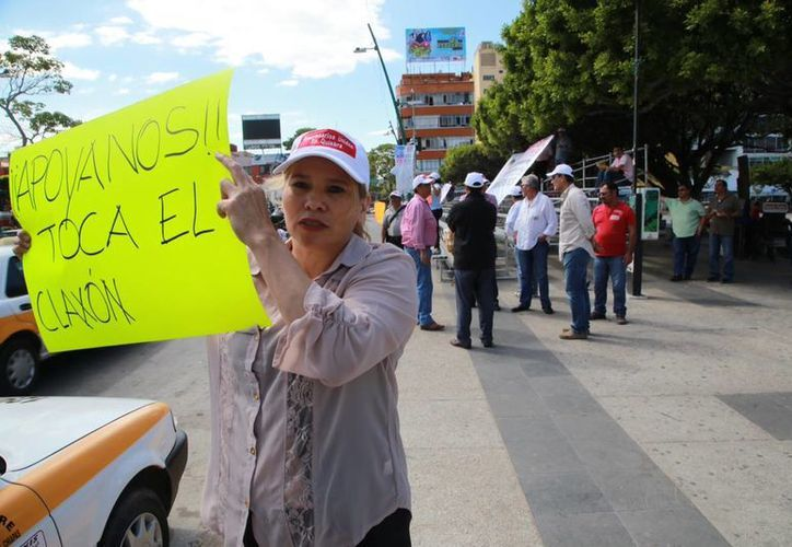 Empresarios denunciarán, durante el recorrido del Papa en Chiapas, que el gobierno les debe millones de pesos. (Luis Soto/SIPSE)