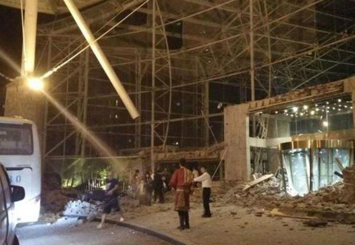 El foco del sismo se ha situado a alrededor de 200 kilómetros de la ciudad de Guangyuan. (Twitter/@XHNews)