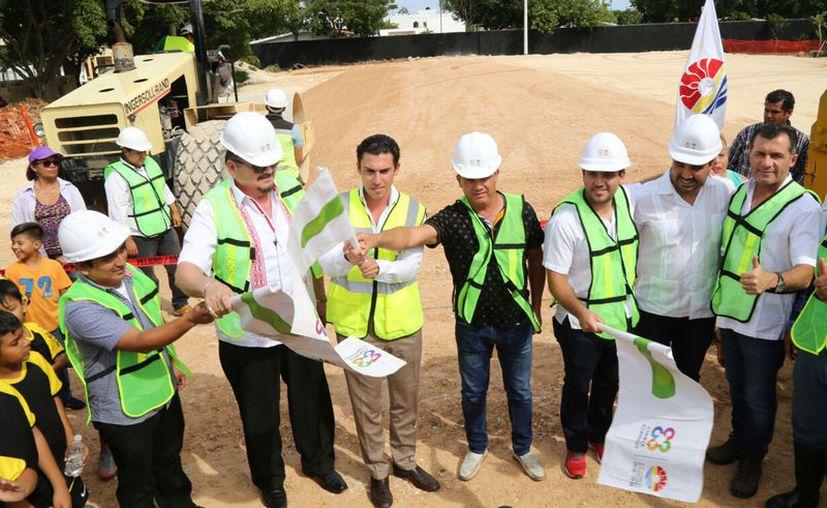 Construyen nuevos espacios para la práctica del deporte. (Cortesía)