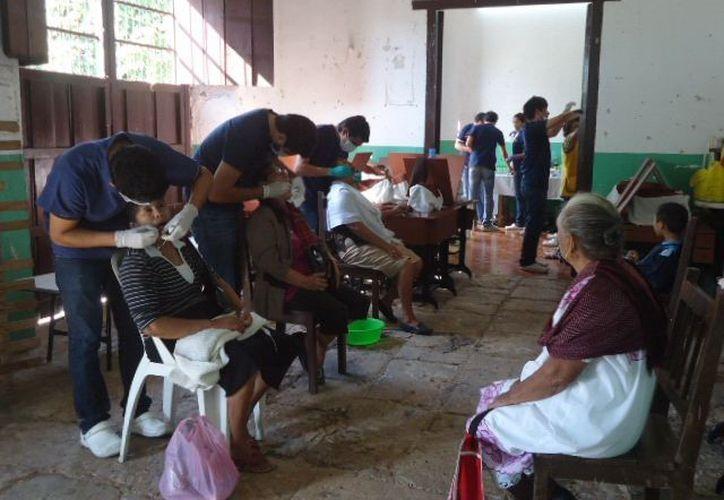 Buena respuesta tuvo la Semana de la Salud en Temax. (Milenio Novedades)