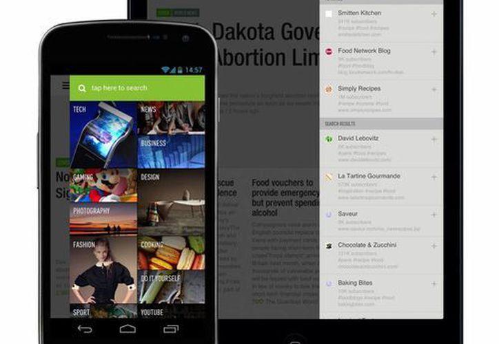 Feedly (imagen) es una de las opciones que podría reemplazar a Google Reader. (elandroidelibre.com/Archivo)