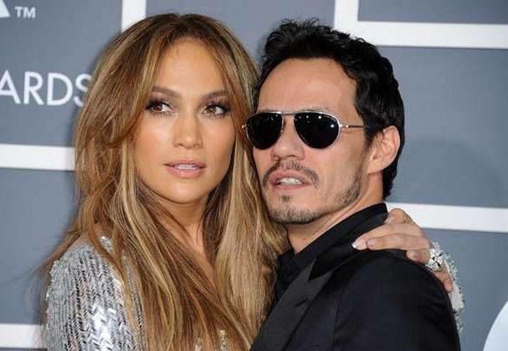 Jennifer López grabará su primer álbum en español en nueve años, con apoyo de su exesposo Marc Anthony. (ellahoy.es)