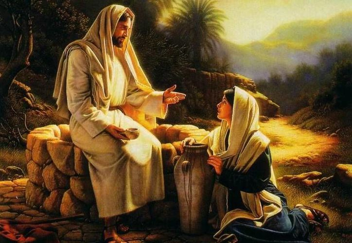 El don del agua viva significa la divina revelación de Dios Padre en la persona de Jesús. (SIPSE)