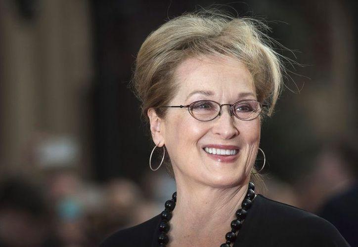 De ganar en la edición 90 de la entrega de la presea Streep empataría a Katherine Hepburn. (Contexto)