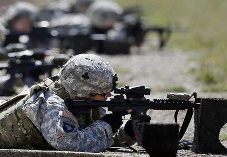 El GFP considera la mano de obra, armas del Ejército de Tierra entre otros. (Archivo/AP)