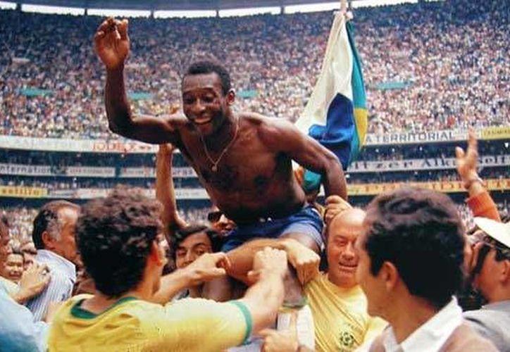 México se rindió ante 'O Rei' en el mundial de 1970. (Foto: Agencias)