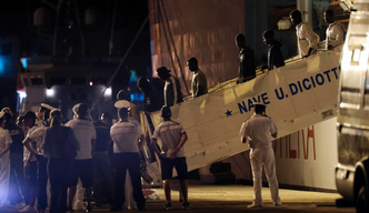 Rescued migrants questioned in Sicily about alleged threats