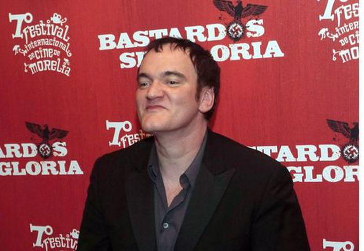 En entrevista para Playboy, Tarantino dijo que no desea volverse un director viejo. (Foto: Agencia Reforma)