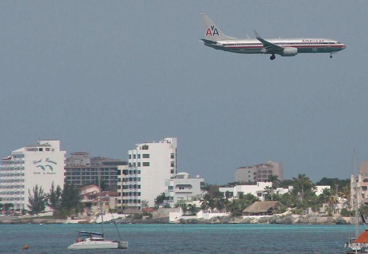 En esta ruta se utilizará un avión tipo Boeing 373-800. (Julián Miranda/SIPSE)