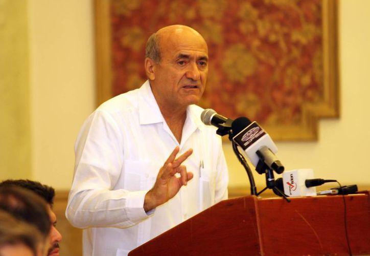Ricardo Dájer Nahum, presidente de la Asociación Mexicana de Hoteles en Yucatán, dijo que no se darán a conocer cifras de ocupación sino hasta que concluya el mes. (SIPSE)