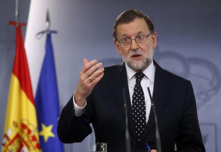 Mariano Rajoy aseguró que decidió no presentarse al debate de investidura a pesar de encabezar el grupo parlamentario con más diputados. (Agencias)